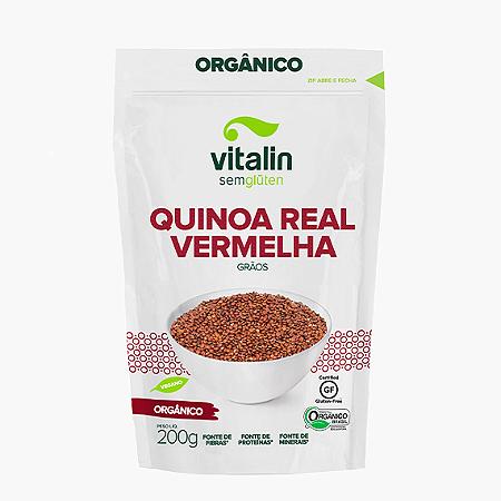 Quinoa real vermelha organica Vitalin 200g