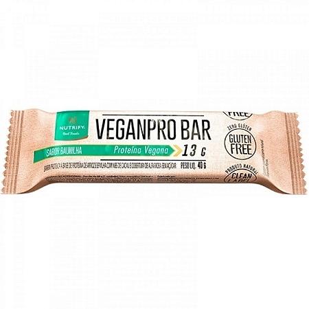 Barra Veganbar baunilha Nutrify 40g