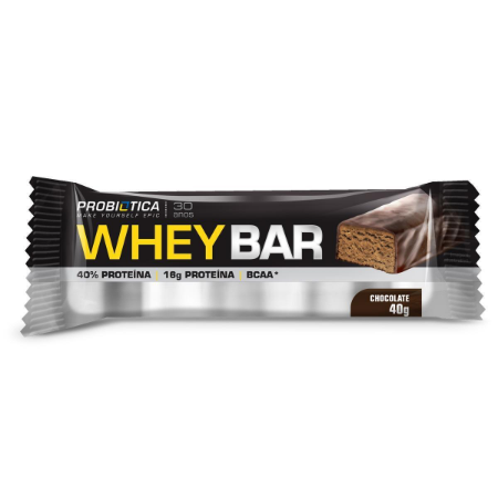 Wheybar frutas chocolate Probiotica 40g