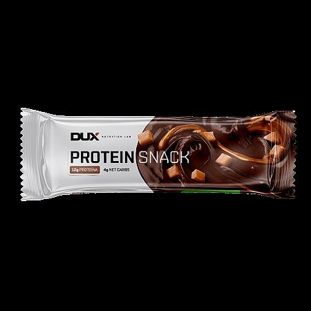 Barra protein snack chocolate belga e caramelo Dux 40g
