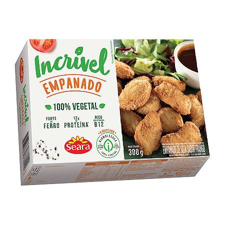 Empanado sabor frango vegetal incrivel Seara 300g
