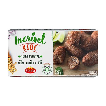 Kibe vegetal Incrivel Seara 300g