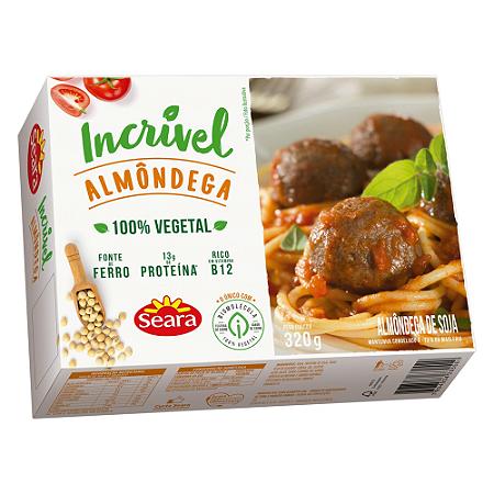Almondega vegetal Incrivel Seara 320g