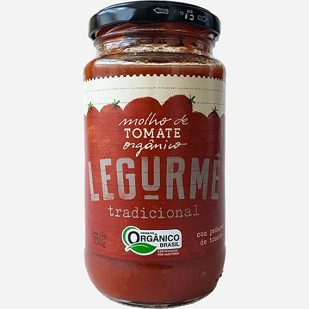Molho tomate organico Legurme 330g