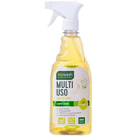Multiuso limpeza geral com gatilho capim limao Biowash 650ml