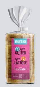 Pão multigrãos sem gluten congelado Benditamae 400g