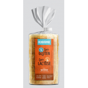 Pão quinoa sem gluten congelado Benditamae 400g