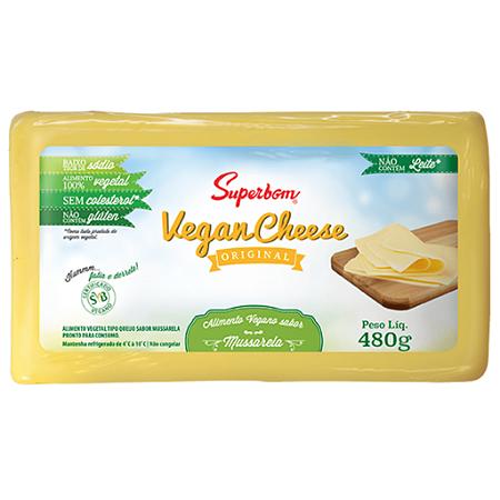 Vegan cheese mussarela Superbom 480g