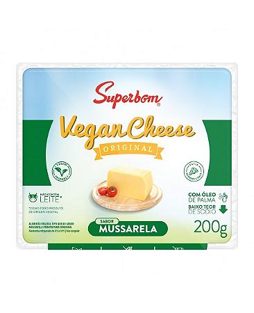 Vegan cheese mussarela Superbom 200g