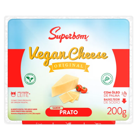 Vegan cheese prato Superbom 200g