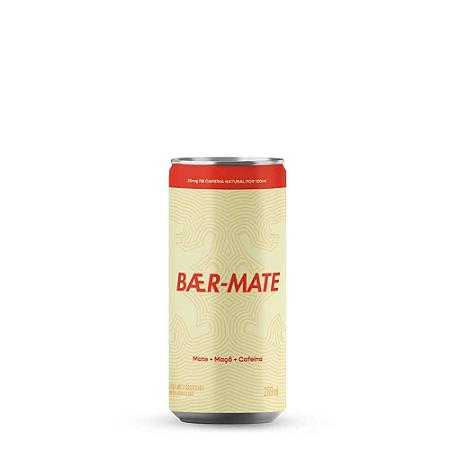 Bebida de mate maçã e cafeina Baer-Mate 269ml