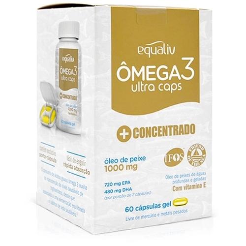 Omega 3 1000mg Equaliv 60capsulas