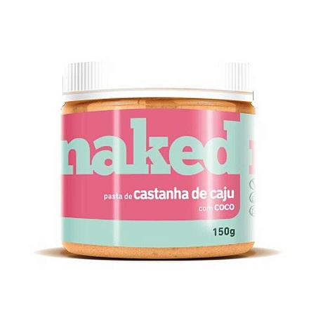 Pasta de castanha caju com coco Naked Nuts 150g