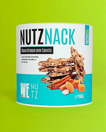 Chocolate nutznack chocolate branco com canela Wenutz 160g