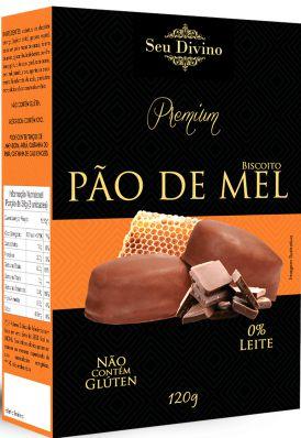 BISCOITO PÃO DE MEL  SEU DIVINO 120G