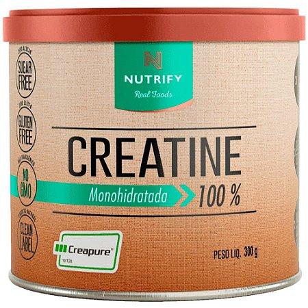 Creatina monohidratada 100% - NUTRIFY