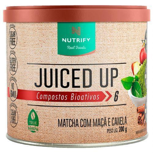MATCHA COM MAÇÃ E CANELA JUICED UP NUTRIFY - 200G