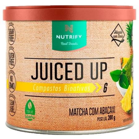 MATCHA COM aBACAXI JUICED UP NUTRIFY - 200G