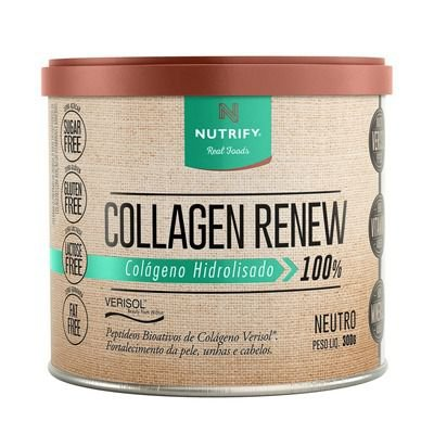 COLAGEN RENEW - Colágeno hidrolisado Neutro- Nutrify 300g
