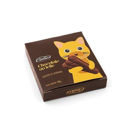 LÍNGUA DE GATO CHOCOLATE AO LEITE 48G