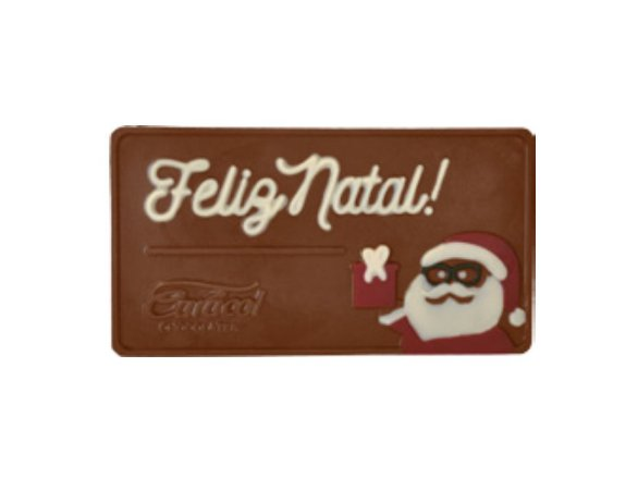 Placa de Chocolate ao Leite 50g