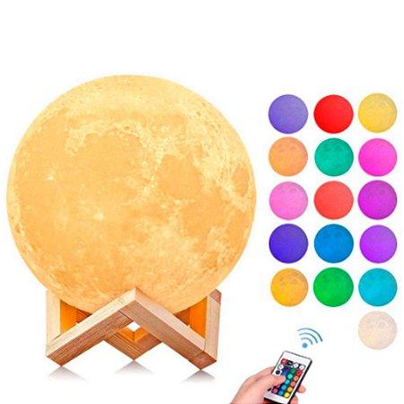 Luminária de lua Sem Personalização 16 CORES