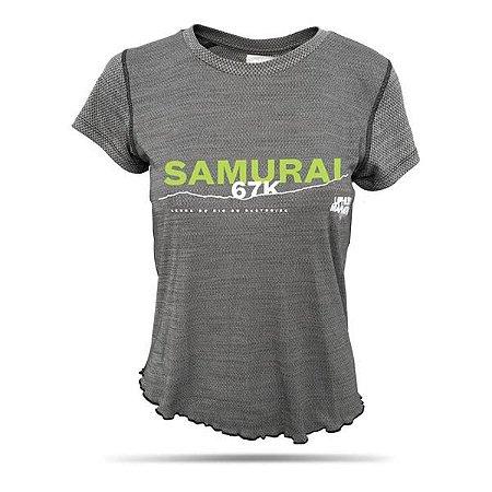 Camiseta Feminina Uphill Ninja Samurai 67K