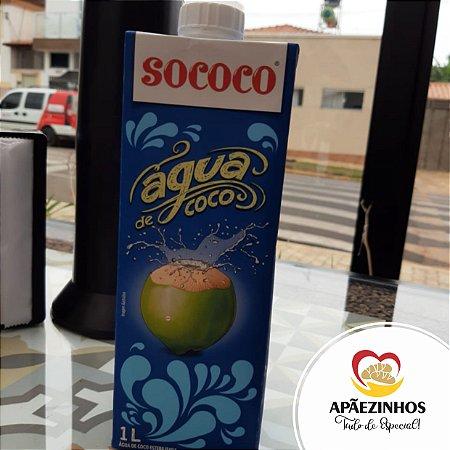 Água de Coco - Sococo 1 Litro (Unidade)