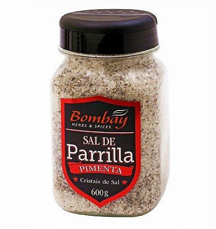 Sal de Parrilla com Pimenta Bombay 600g