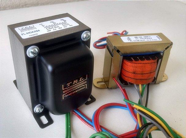 Kit Transformadores padrão AX84-SEL-KT88 - Bivolt - Versão TRL