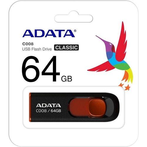 PEN DRIVE 64GB ADATA FLASH USB 2.0 C008 64GB