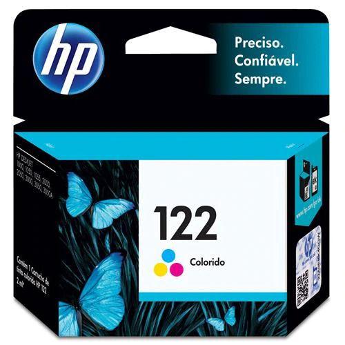 Cartucho de Tinta HP 122 Color CH562HB