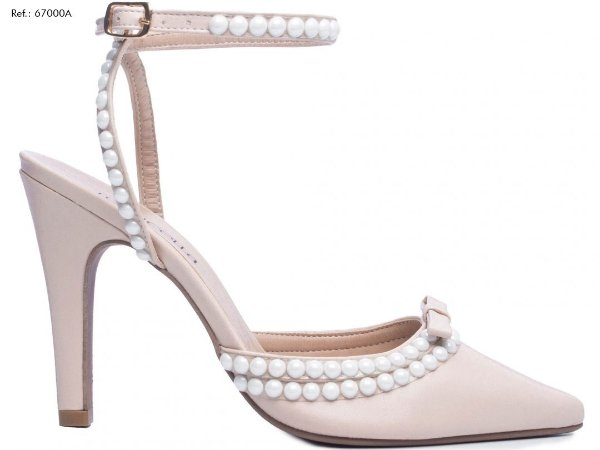 Sapato Scarpin Perolas