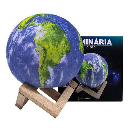 LUMINARIA GLOBO C/SUPORTE