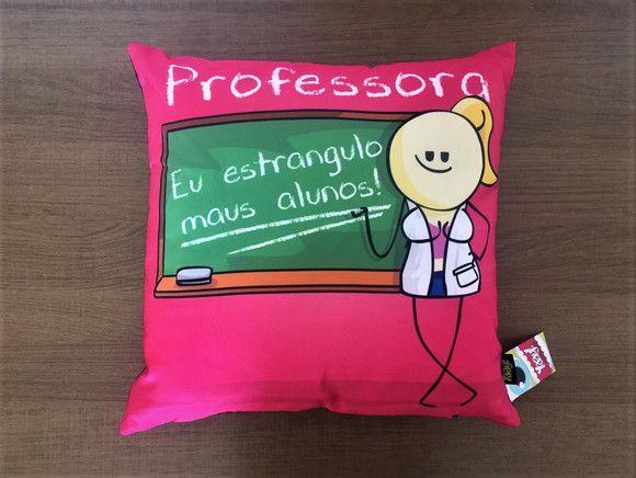 Almofada Profissões Professora
