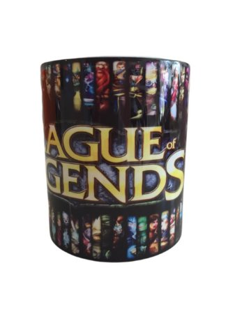 Caneca Porcelana - League of Legends - lol