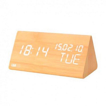 Relógio Despertador Digital de LED Luatek