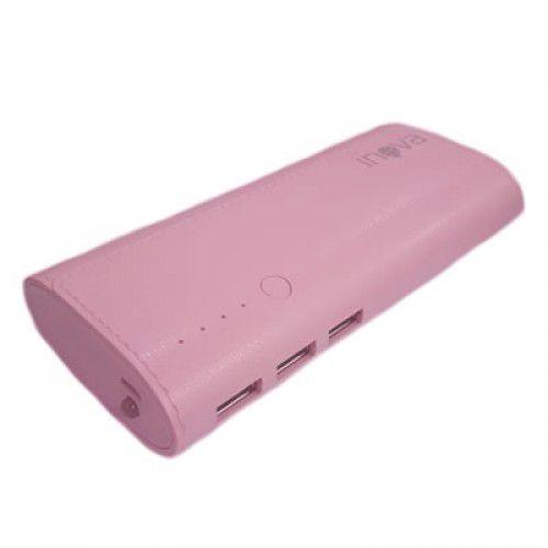 Carregador Portátil Power Bank 3 Entradas USB Inova 10000mAH