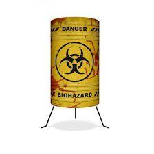 Luminária Yaay Barril Biohazard - Risco biológico