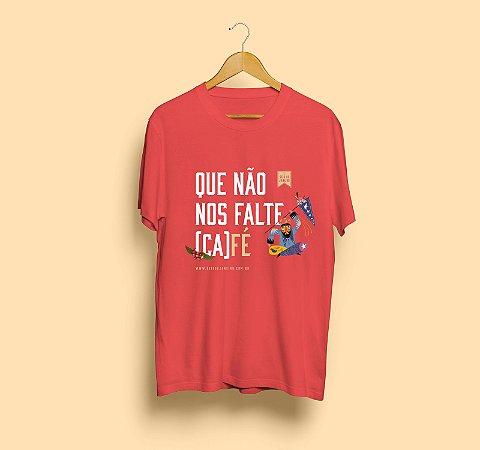 Camiseta Seis de Janeiro   Que não nos falte café