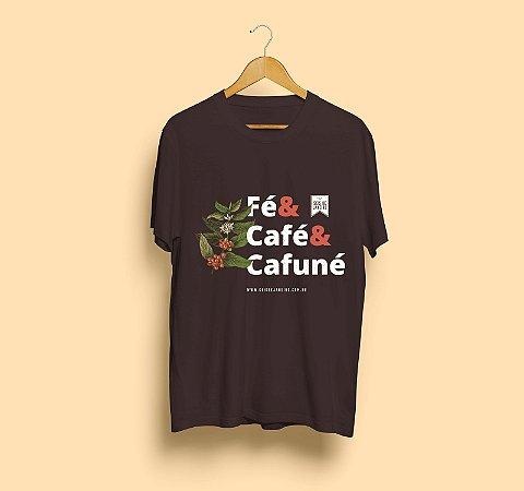 Camiseta Seis de Janeiro | Fé, Café e Cafuné