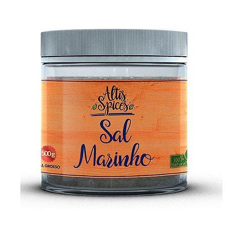 Pote Sal Marinho Grosso 500gr Premium