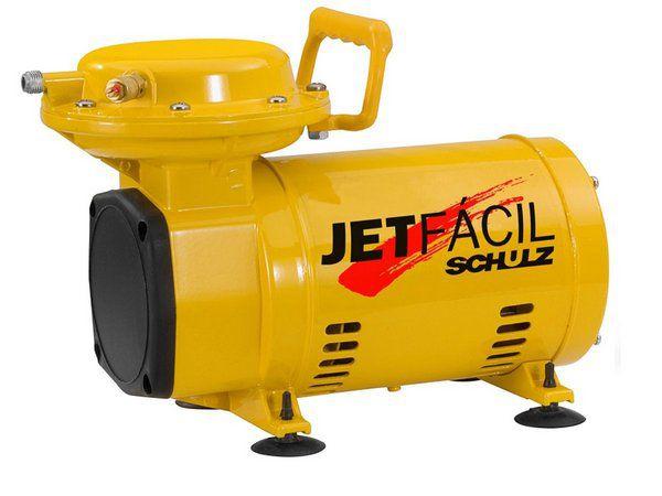 MOTOCOMPRESSOR DE AR SCHULZ JET FACIL - MONO 110/220V - 1/3CV