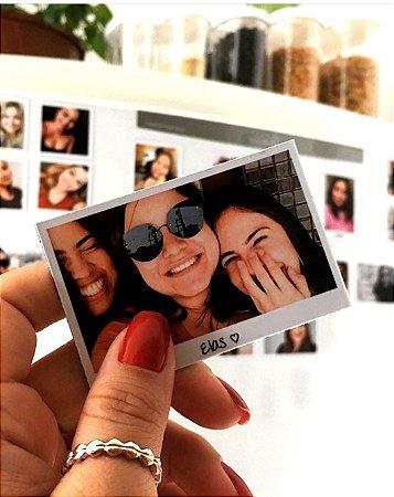 Álbum de geladeira - Foto imã - 21 unidades