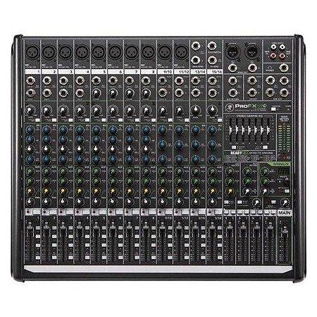 Mesa Mackie ProFX16v2 de 16 canais com efeitos profissionais