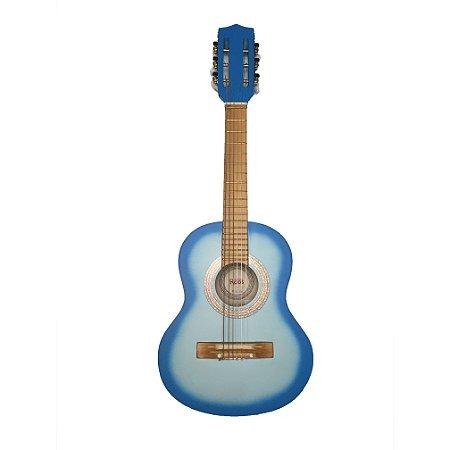 Violão Infantil Roos Nylon Iniciante - Azul