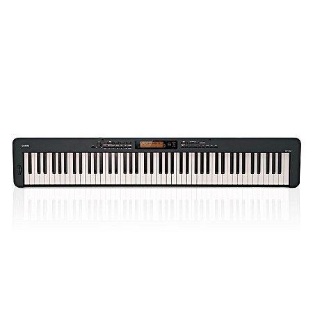 Piano Digital Casio CDP-S350 - Preto C/ Fonte
