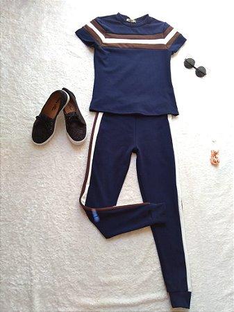 Conjunto de Calça e blusa Neoprene tamanho único
