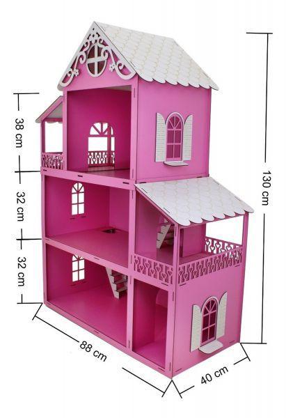 Casa De Boneca 130 Cm
