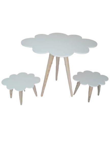 Mesa Nuvem Com 2 Bancos